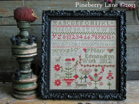 Mary Edmondson 1812 E-pattern