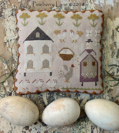 Mrs. Maguire's Hen House E-pattern