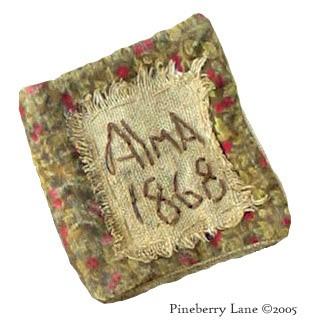 Alma & Her Pinkeep E-pattern