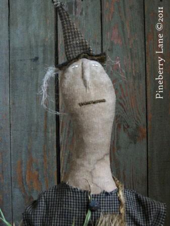 Fancey Blackett Primitive Doll