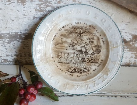 Proverbs Child's Plate