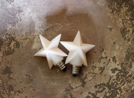 Silicone Star Bulb Set of 2