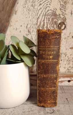 Abby Russell's Bible 1843