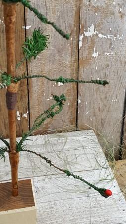 Antique Feather Tree