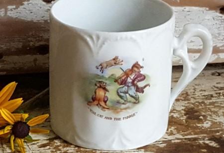 Vintage Nursery Rhyme Cup