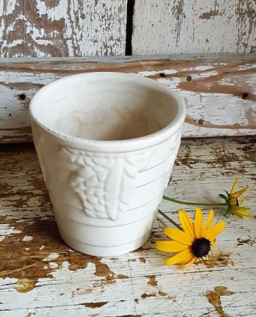 Vintage White Planter