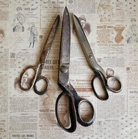 Trio of Vintage Scissors