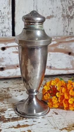 Vintage Silver Salt Shaker