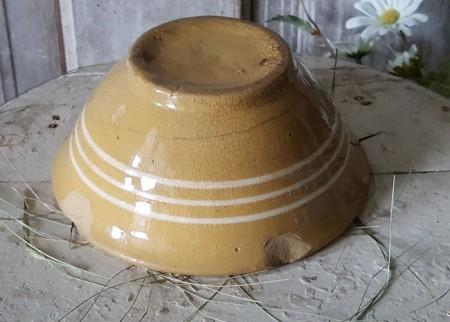 Yellow Ware Bowl #3 - Small