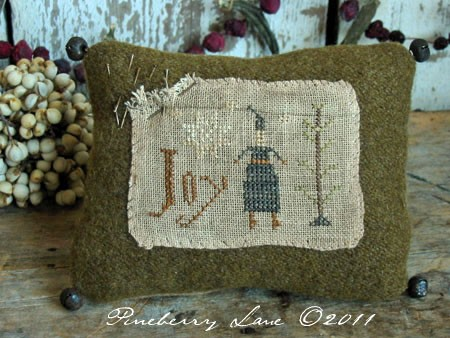 Christmas Joy Pinkeep E-pattern