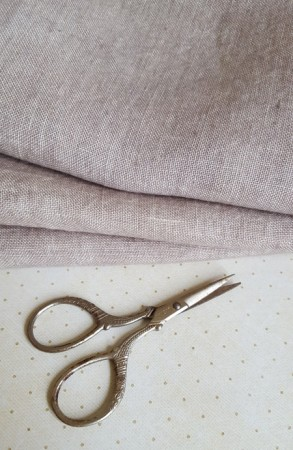 35 Count Confederate Gray Weeks Dye Works Linen