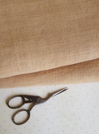 32 Count Straw Weeks Dye Works Linen