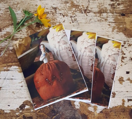 Set of 3 Notecards - Lady Pincushion