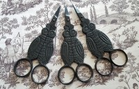 Owl Scissors - Black