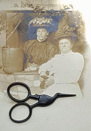 Storklette Scissors - Primitive Matte Black