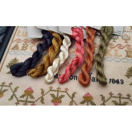 Anne Marston 1843 Partial Floss Pack