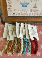 Elizabeth Baker 1844 Floss Pack