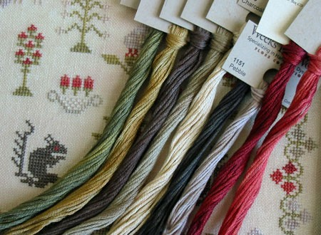 Mary Oakley 1818 Floss Pack